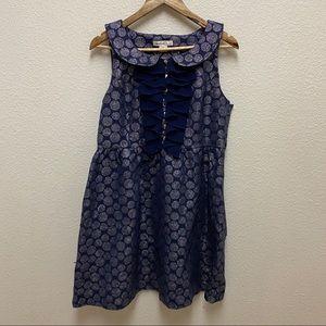 Kensie Brocade Sleeveless Dress